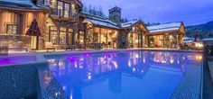 Vail Ski Getaway: Vail, Colorado  Architect: RMT Architects  www.rmtarchitects.com   Builder: Beck Building Company  Photos Credit: Ron Byrne & Associates Real Estate