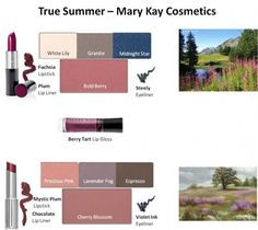 Mary Kay - True Summer Looks #1 and #2