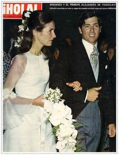 Príncipe Alejandro Karageorgevic & Princesa María da Gloria de Orleans-Braganza y Borbón-Dos Sicilias