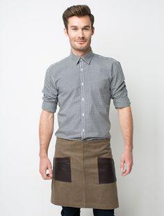 Cargo Crew - Dillon Waist Apron - Tobacco - Online Uniform Shop Australia