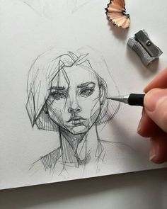 Ani Cinski is a German pencil sketch artist, Illustrator and Graphic Designer. For More Details View Website sketches Pencil Sketch Artist Ani Cinski Pencil Art Drawings, Art Drawings Sketches, Drawing Faces, Sketch Art, Pencil Sketching, Anime Sketch, Pencil Sketches Simple, Cartoon Drawings, Drawing With Pencil