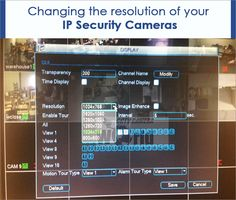 Why Its Good to Lower the Resolution of Your IP Security #Cameras!!!Lowering the resolution of your IP security camera may have many benefits for you. Converting your IP security camera to a lesser resolution than its maximum potential could make a lot of sense to you in quite a number of scenarios.Read more at:http://advik.net/blog/security-camera-tips/why-its-good-to-lower-the-resolution-of-your-ip-security-camera