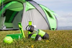 Meet Cinch! The Ultimate Pop Up Tent With Solar Power & LED (Videos)