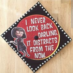 You won't believe what these graduates wore to their own graduation! STAND OUT at graduation with these inspiring DIY cap designs. The latest trend in graduation ceremonies is to customize your cap so your family and friends can recognize you. Disney Graduation Cap, Funny Graduation Caps, Graduation Cap Toppers, Graduation Cap Designs, Graduation Cap Decoration, Graduation Diy, High School Graduation, Funny Grad Cap Ideas, Custom Graduation Caps