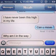 And your friends have to check in on you:   27 Hilarious Moments Of Stoner Logic