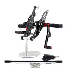 Mad Hornets - Rearset for Yamaha YZF 1000 R1 (2007-2008), Blk or Gold, $179.99 (http://www.madhornets.com/rearset-for-yamaha-yzf-1000-r1-2007-2008-blk-or-gold/)