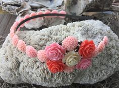 JEWELRY: Flower Filigree Head Band / Bridesmaid Hairbands /