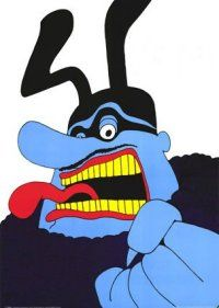 The Biggest Blue Meanie of them All - Gaia Blooming