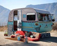 Muhteşem karavan ! Hayatı bunun içine sığdırmak gerek.