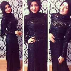 Special Occasion Hijab Styles and Dresses