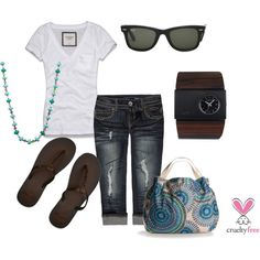Laid Back, created by pbmhuck on Polyvore