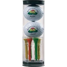 Two Golf Ball Tube | Printed Golf Gifts | Promotional Merchandise