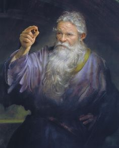 """""""Gandalf: Shadow of the Past"""" 26"""" x 34"""" Oil on Paper on Panel ©2001 Donato Giancola"""