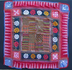 Square cloth (davalo)+++More Banjara textiles and information on my book you will find on my website www.m-beste.de
