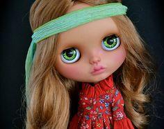 Tessie custom Blythe Doll by Blue Butterfly by BlueButterflyDolls