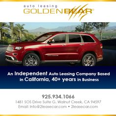 •An Independent Auto Leasing Company     Based in California, 40+ years in Business  • One Stop, Full Disclosure Auto Leasing      for Any Make or Model  • Let Us Find What You're Looking For!