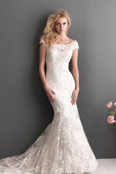 2013 Wedding Dresses Trumpet/Mermaid Off The Shoulder Court Train Tulle Sleeves Zipper Up Back USD 269.99 EPPDPDA5ZJ - ElleProm.com