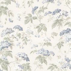 Emily Blue Blossom Trail Wallpaper