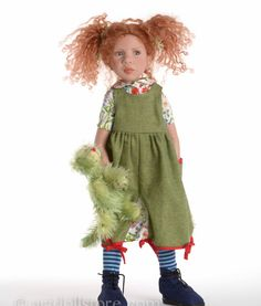 Olive-Trinette. Collectible doll by Zwergnase