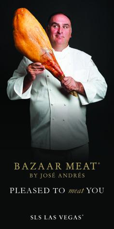 Bazaar Meat menu, Jose Andres's new restaurant in Las Vegas
