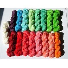 kool aid dyed yarn, 27 Classic Pack