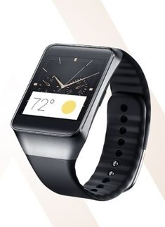 The Samsung Gear Smartwatch.