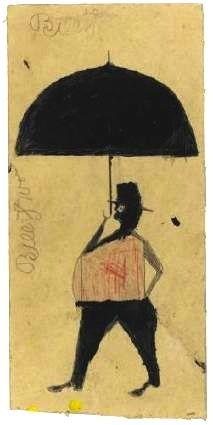 Bill Traylor - saw his work this summer, very exciting, energetic and inspiring