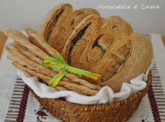 Grissini e pane con esubero di lievito madre