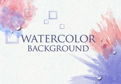 How to Create Watercolor Background using Phantasm CS and Adobe Illustrator + others tutorials Illustrator