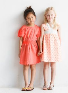 Adorable Little Ladies // Kid Fashion