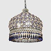 Anheng Lights Blue Crystal håndvevde Bohemia ... – NOK kr. 1.331