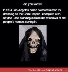 Grim Reaper... I think the older you are the meaner it seems!