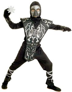 Boy's Ice Dragon Ninja Costume