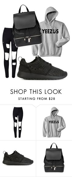 """""""Untitled #476"""" by heden-fun ❤ liked on Polyvore featuring NIKE, COSTUME NATIONAL, women's clothing, women, female, woman, misses and juniors"""