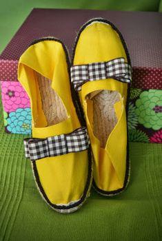 GEMITA CROCHET : zapatillas