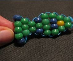 How to Make a Beaded Fish Keychain