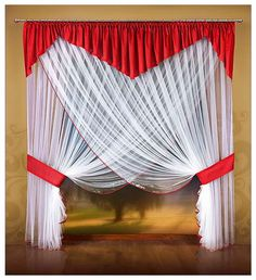 Curtains And Draperies, Elegant Curtains, Home Curtains, Beautiful Curtains, Modern Curtains, Hanging Curtains, Kitchen Curtains, Window Curtains, Valances