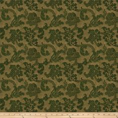 Charlotte Moss Harriet Chenille Ivy from @fabricdotcom  This lovely chenille fabric is  perfect for valences, toss pillows, and upholstery projects like ottomans and headboards.
