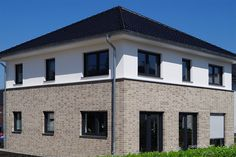 Dachziegel anthrazit stadtvilla  Röben Klinker, Bricks | FARO grau-bunt, LDF, Fußsortierung ...
