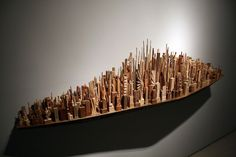 Wood-Carved Cityscapes by James McNabb