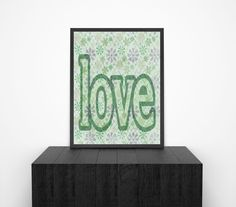 Printable Wall Art Love Quote Typography Poster by ChangingVases, $5.00