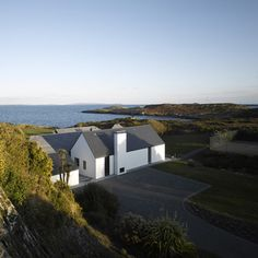 House at Goleen by Niall McLaughlin Architects - has views of the cliffs, the sea & the islands of west Cork.