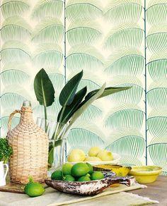Silvana | Papier peint floral | Motifs du papier peint | Papier peint des années 70
