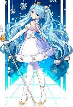 Girls Anime, Kawaii Anime Girl, Anime Art Girl, Manga Girl, Hatsune Miku Wallpaper, Hatsune Miku Birthday, Hatsune Miku Outfits, Manga Anime, Sad Anime