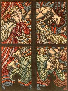 """nemfrog: """"The Last Judgement. Max Švabinský. 1938. """""""