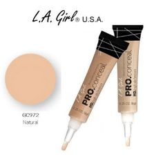 Girl Pro Conceal HD 973 Creamy Beige Pack) L. Girl Pro Conceal HD Creamy Beige 973 Pack), Crease resistant, opaque coverage in a creamy yet Too Faced Concealer, Best Concealer, Concealer Palette, Best Beauty Tips, Beauty Hacks, Women's Beauty, L A Girl Cosmetics, Covering Dark Circles, Best Makeup Products