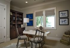 Office Space | 2014 Southern Living Custom Builders Showcase Home | Dillard-Jones Builders | In Town | Lake | Mountains