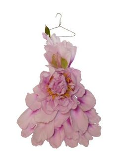 fairy clothes | peony fairy dress from petal and pins | Grower Direct Fresh Cut ...
