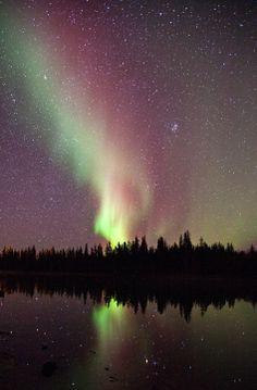 Northern Lights, by Dave Brosha based in Yellowknife, Northwest Territories.