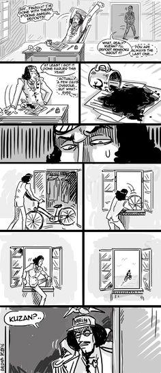 Dasha KO Sengoku Aokiji Kuzan One Piece